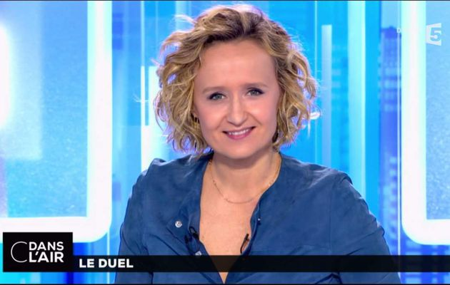 Caroline Roux C Dans l'Air France 5 le 03.05.2017