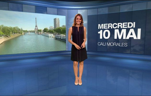 Cali Morales Météo M6 le 10.05.2017