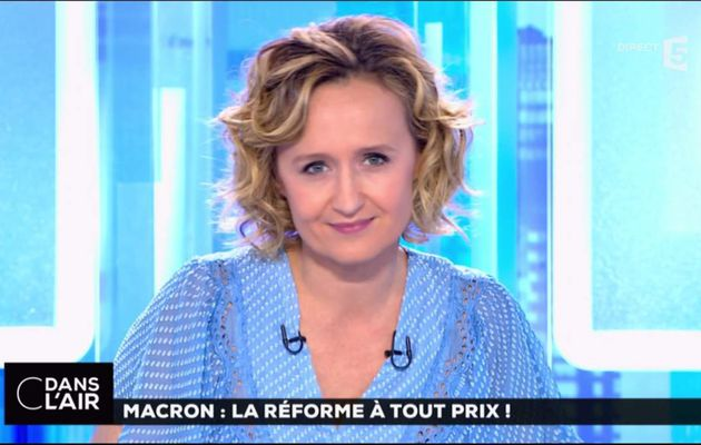Caroline Roux C Dans l'Air France 5 le 10.05.2017