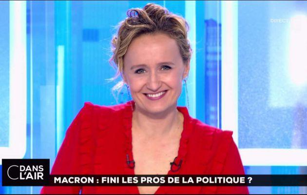 Caroline Roux C Dans l'Air France 5 le 11.05.2017
