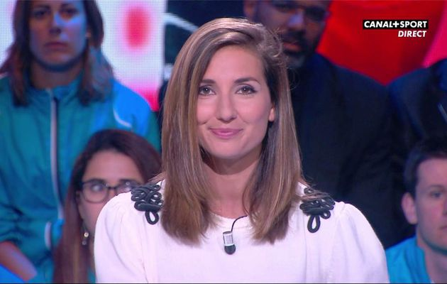 Marie Portolano 19H30 Foot Canal+Sport le 12.05.2017