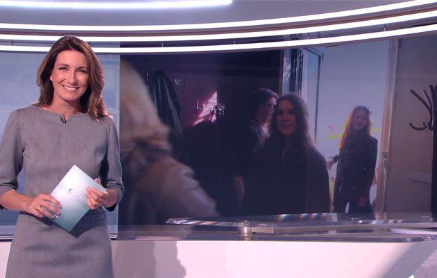 Anne-Claire Coudray JT 13H TF1 le 13.05.2017