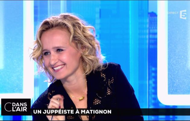 Caroline Roux C Dans l'Air France 5 le 15.05.2017