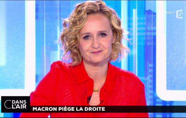 Caroline Roux C Dans l'Air France 5 le 16.05.2017