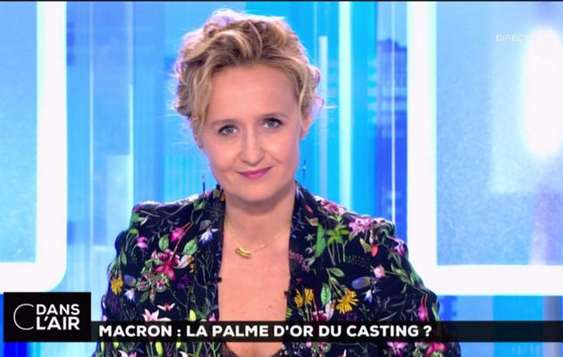 Caroline Roux C Dans l'Air France 5 le 17.05.2017