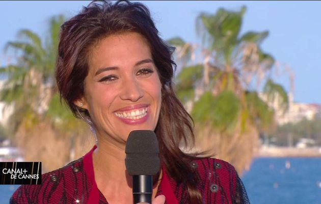Laurie Cholewa Canal+ de Cannes Canal+ le 22.05.2017