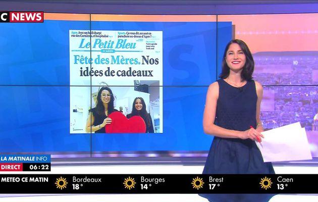 Clélie Mathias La Matinale Info CNews le 26.05.2017