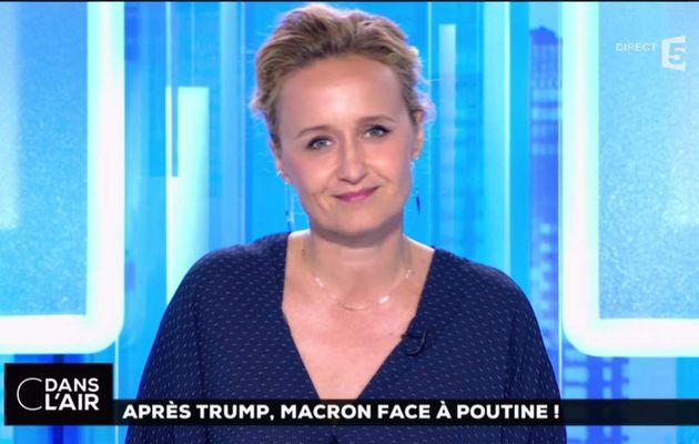 Caroline Roux C Dans l'Air France 5 le 29.05.2017