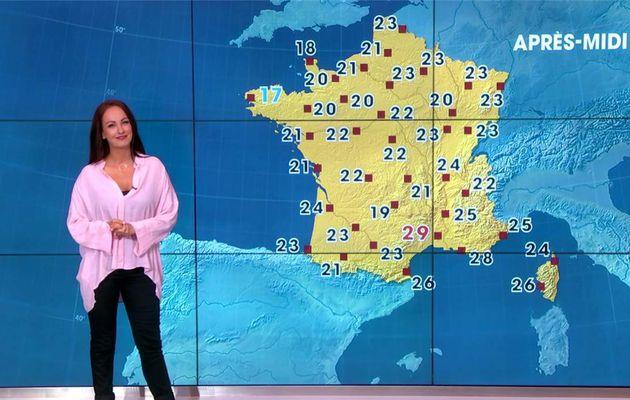 Alexandra Blanc Météo LCI le 05.06.2017