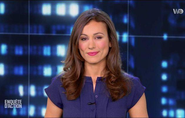 Marie-Ange Casalta Enquête d'Action W9 le 09.06.2017