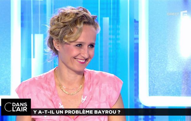 Caroline Roux C Dans l'Air France 5 le 14.06.2017