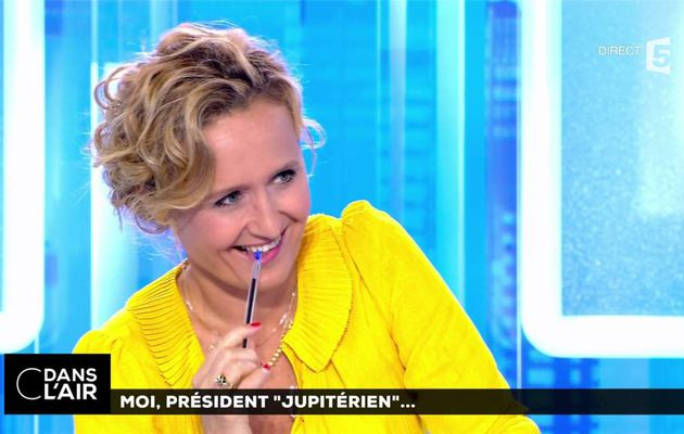 Caroline Roux C Dans l'Air France 5 le 15.06.2017