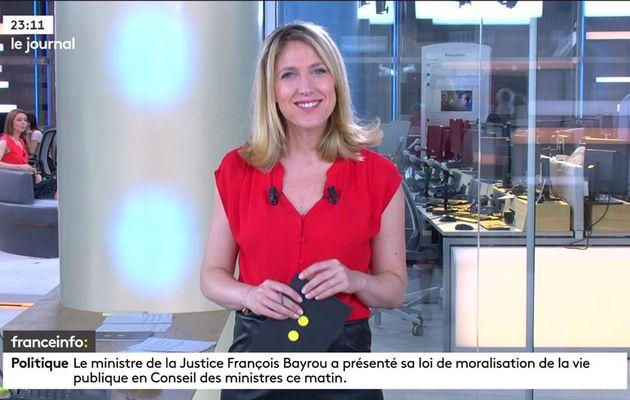Clémence de la Baume Franceinfo: le 15.06.2017