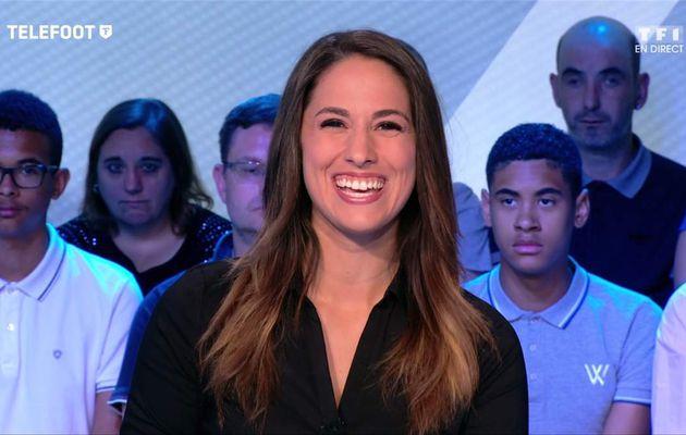 Charlotte Namura Téléfoot TF1 le 18.06.2017