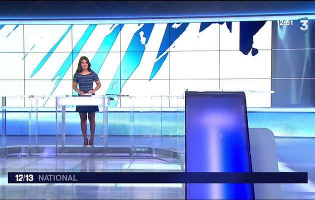 Emilie Tran Nguyen Le 12/13 France 3 le 19.06.2017