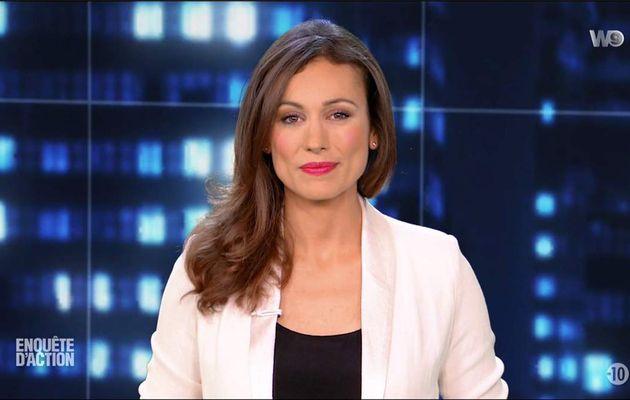 Marie-Ange Casalta Enquête d'Action W9 le 23.06.2017