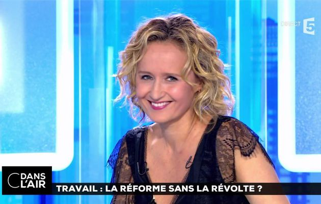 Caroline Roux C Dans l'Air France 5 le 26.06.2017