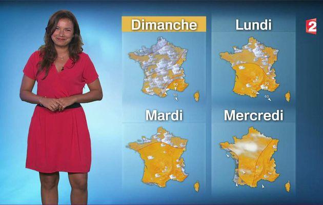 Anaïs Baydemir Météo France 2 le 30.06.2017
