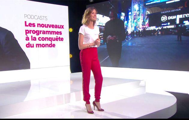 Isabelle Ithurburu Le Tube Canal+ le 08.07.2017