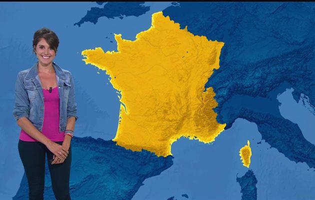 Fanny Agostini Météo BFM TV le 10.07.2017