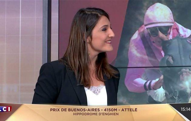 Justine Corbillon Au Coeur de la Course LCI le 22.07.2017