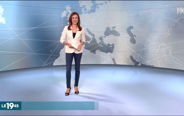 Marie-Ange Casalta Le 19:45 M6 le 28.07.2017