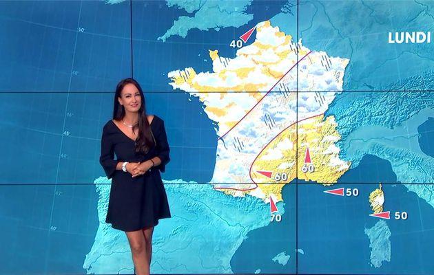 Alexandra Blanc Météo LCI le 29.07.2017