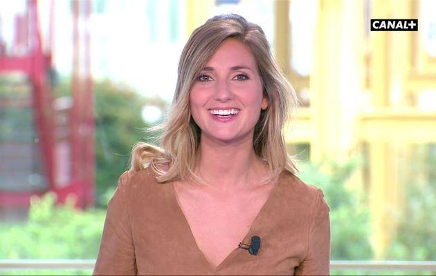 Marie Portolano Samedi Sport Canal+ le 05.08.2017