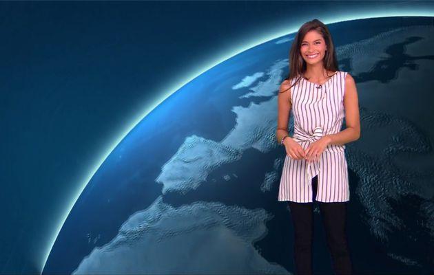 Tatiana Silva Météo TF1 le 16.08.2017