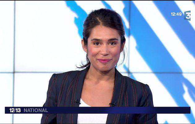 Emilie Tran Nguyen Le 12/13 France 3 le 24.08.2017