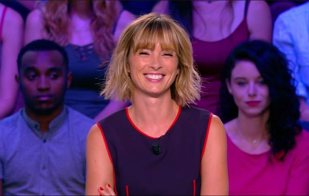 Isabelle Ithurburu Canal Rugby Club Canal+ le 27.08.2017