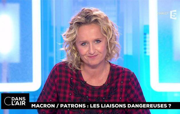 Caroline Roux C Dans l'Air France 5 le 30.08.2017