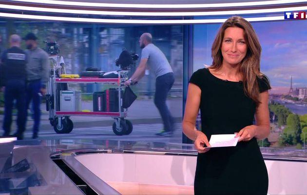 Anne-Claire Coudray JT 20H TF1 le 01.09.2017