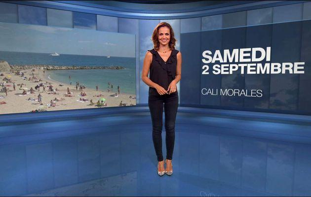 Cali Morales Météo M6 le 02.09.2017