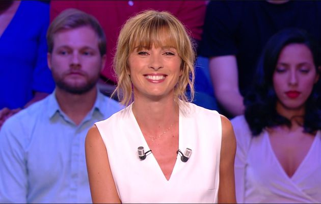 Isabelle Ithurburu Canal Rugby Club Canal+ le 03.09.2017