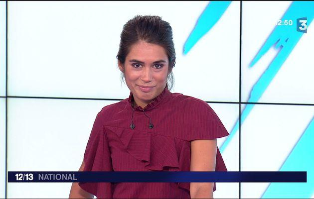 Emilie Tran Nguyen Le 12/13 France 3 le 04.09.2017