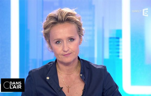 Caroline Roux C Dans l'Air France 5 le 06.09.2017