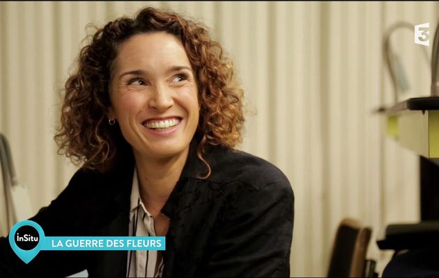 Marie-Sophie Lacarrau In Situ France 3 le 07.09.2017