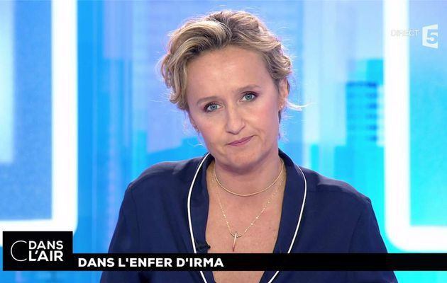 Caroline Roux C Dans l'Air France 5 le 07.09.2017