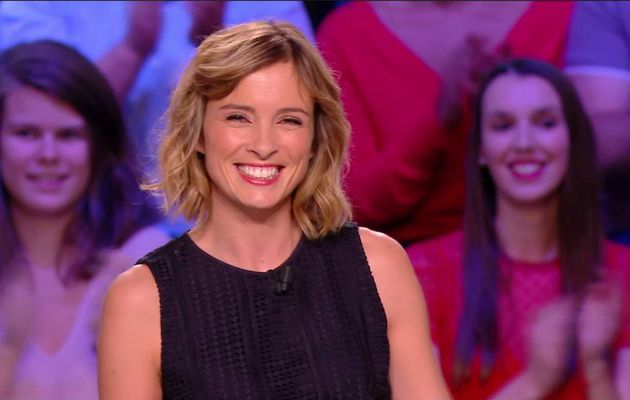Isabelle Ithurburu Canal Rugby Club Canal+ le 08.10.2017