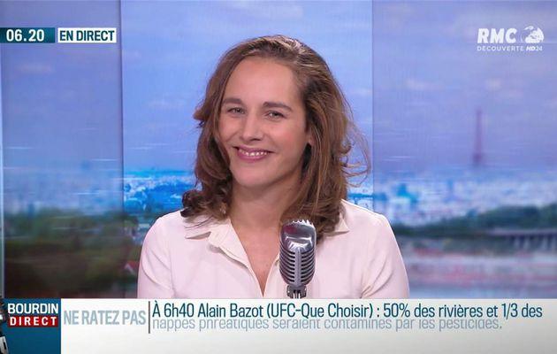 Anaïs Castagna Bourdin Direct RMC Découverte le 18.10.2017