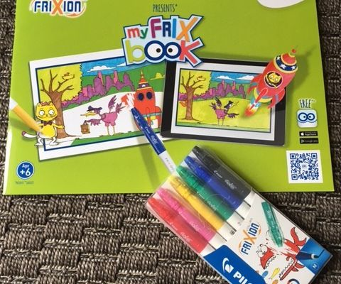 My Frix'Book : le coloriage interactif (Concours Inside)
