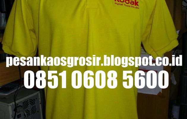 Distributor Kaos Berkerah (Polo Shirt) Bordir Murah
