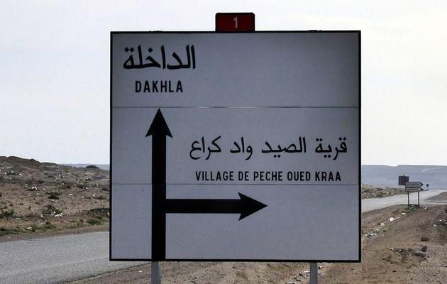 Oued Kraâ : l'arrivée au village.