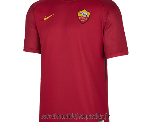 domicile maillot AS Rome 17-18