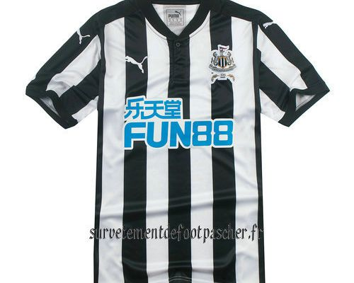 17-18 maillot Newcastle United