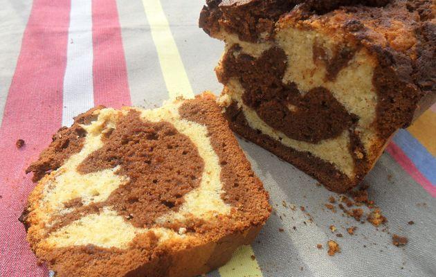 Le cake marbré de Mamie