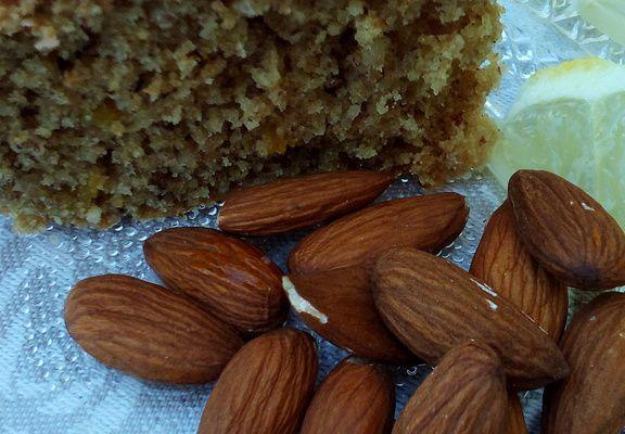 Gâteau aux amandes et au citron (Vegan)