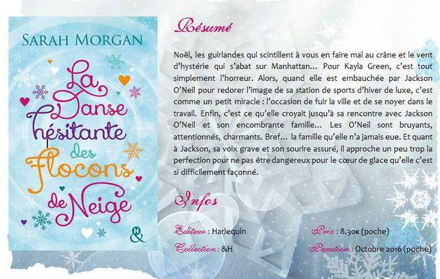 La danse hésitante des flocons de neige (Snow Crystal #1) de Sarah Morgan