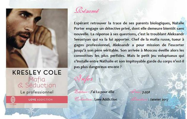 Le professionnel (#1 Mafia & Séduction) de Kresley Cole